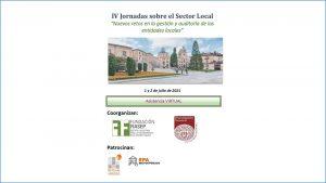 IV Jornadas sobre el Sector Local