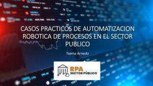 La Automatización inteligente en el Sector Público